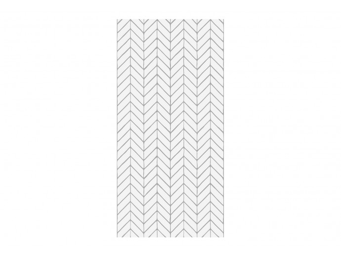 Modern Wallpaper Harmony of Patterns (Grey) 122632 additionalImage 1