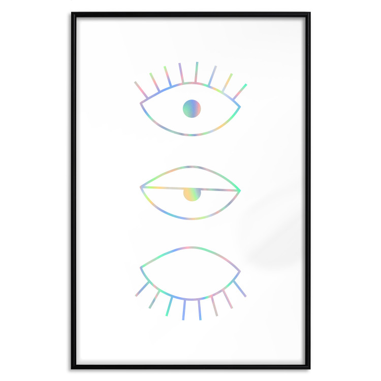 In the Blink of an Eye [Deco Poster - Holographic]