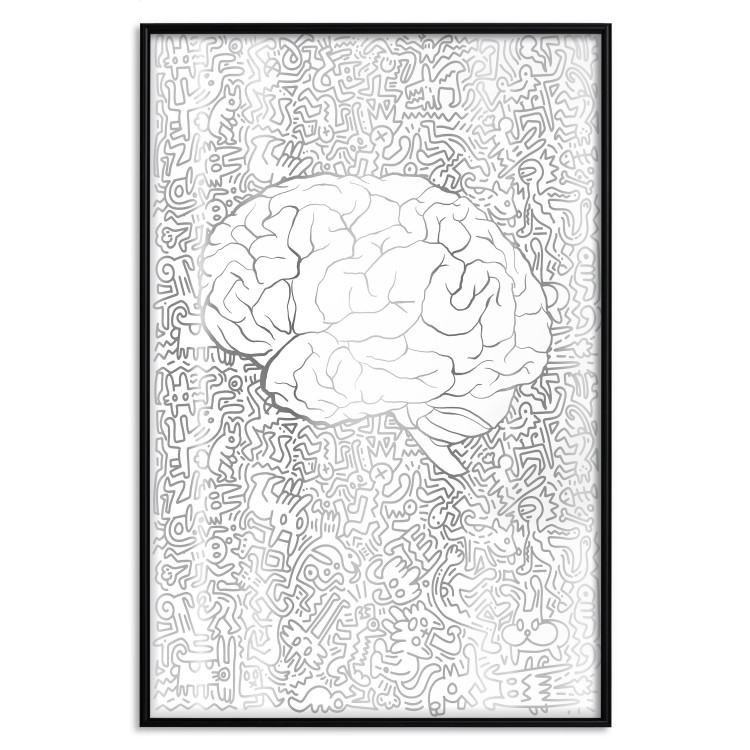 Pure Mind [Deco Poster - Silver]