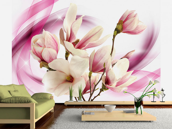 Wall Mural Power of Magnolia 63832