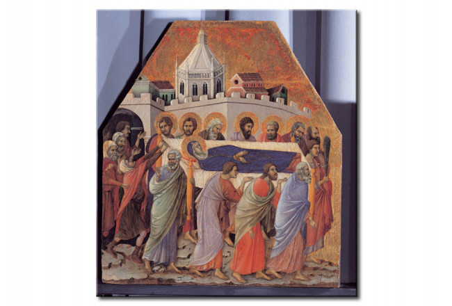 Riproduzione The Funeral-Mary is carried to the grave by the Apostles 108742