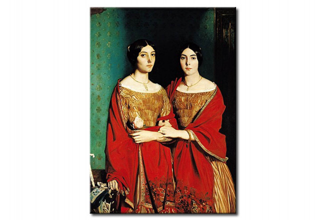 Copia de calidad barata The Two Sisters, or Mesdemoiselles Chasseriau: Marie-Antoinette-Adele 110842