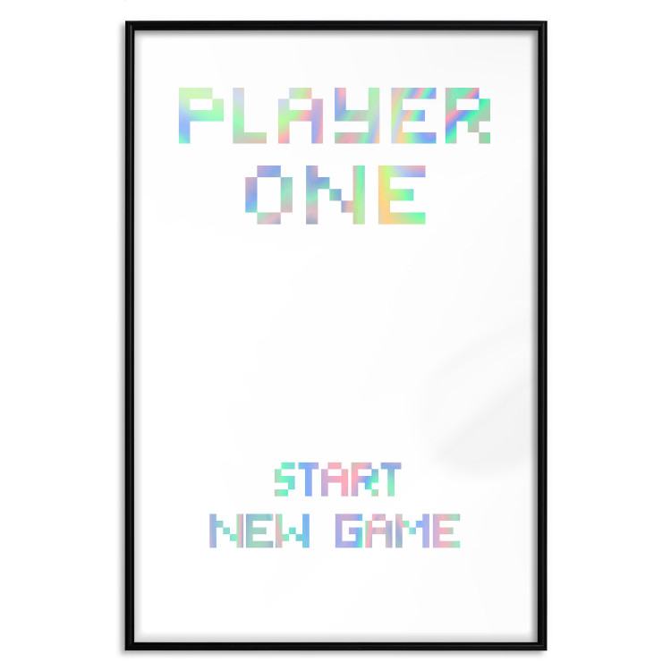 Start new game [Deco Poster - Holographic]