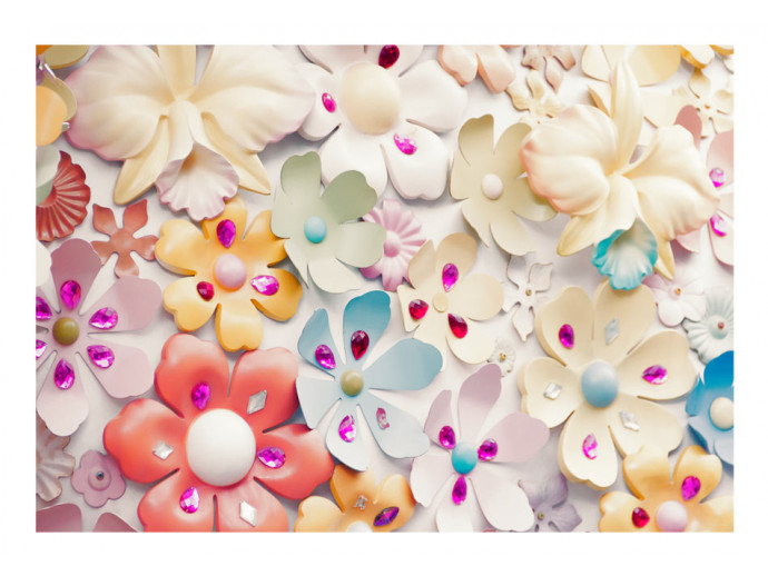 Wall Mural Colourful Charm 91852 additionalImage 1