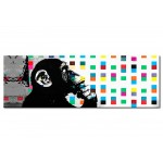 Décoration sur verre acrylique Banksy: The Thinker Monkey [Glass] 94552 additionalThumb 1