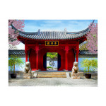 Papier peint moderne Chinese botanical garden of Montreal (Quebec Canada) 61462 additionalThumb 1