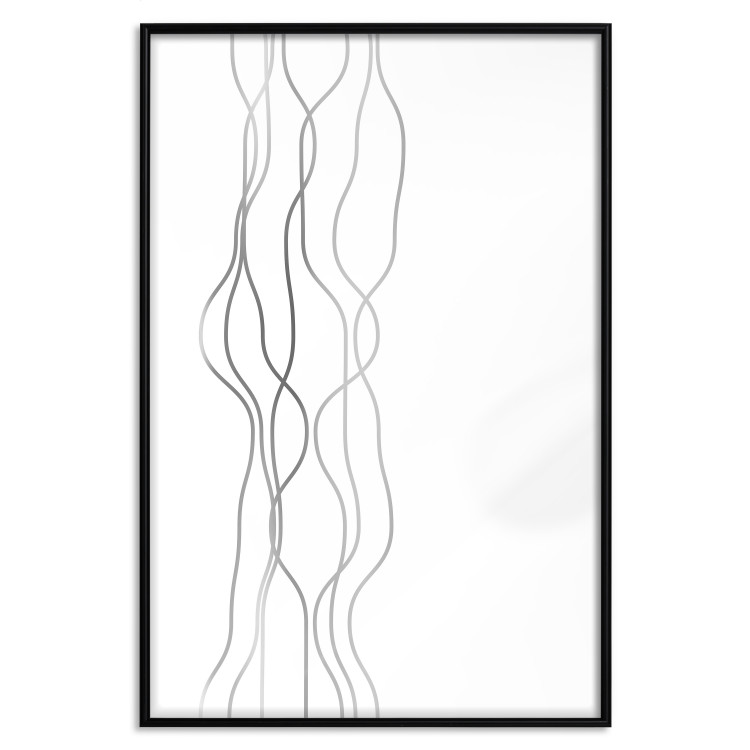 Hanging Ropes [Deco Poster - Silver]