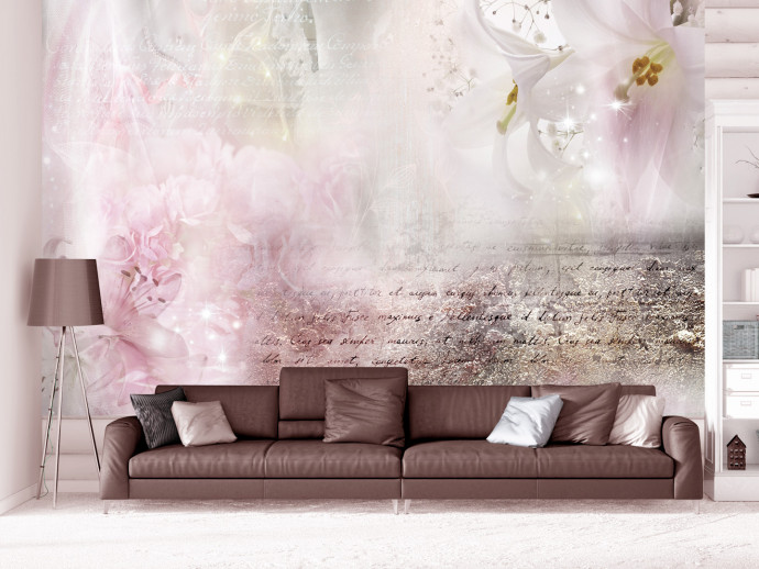 Wall Mural Delicate Lilies 106582