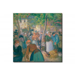 Reproduction Painting The poultry market, Gisors 50982