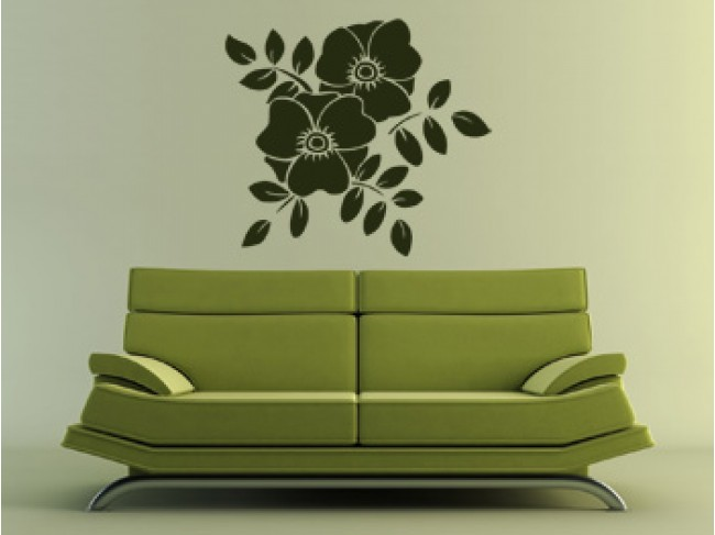 Wall Decal Floral design 99082 additionalImage 2