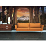 Wall Mural Trail of rocky temples 59792