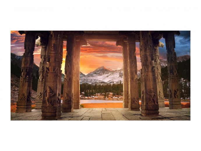 Wall Mural Trail of rocky temples 59792 additionalImage 1