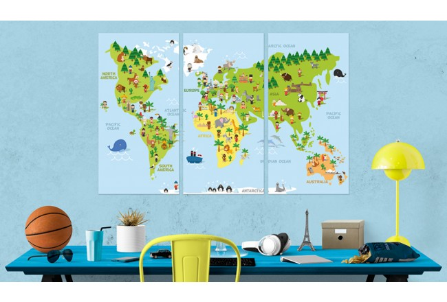 Children's World [Cork Map] 94792 additionalImage 3