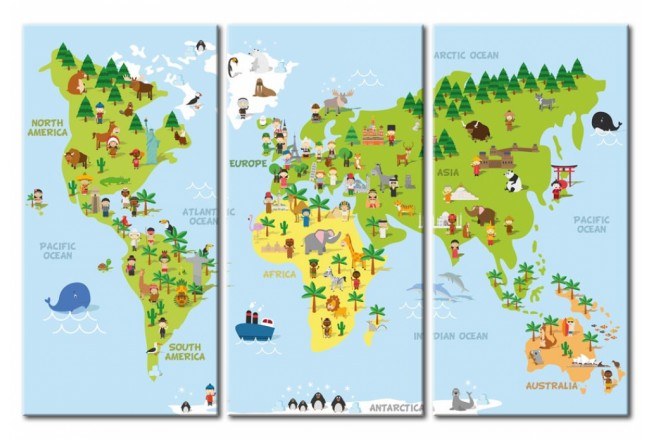 Children's World [Cork Map] 94792 additionalImage 1