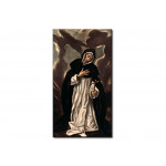 Reprodukcja obrazu Saint Dominic praying 53503