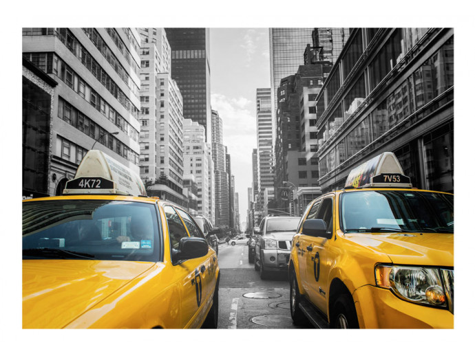 Photo Wallpaper New York taxi 60203 additionalImage 1