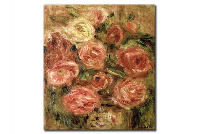 Fiori Quadri Famosi.Riproduzione Quadro Fiori Pierre Auguste Renoir Quadri Famosi