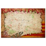 Pinnwand Map of Barcelona [Cork Map] 92213 additionalThumb 1