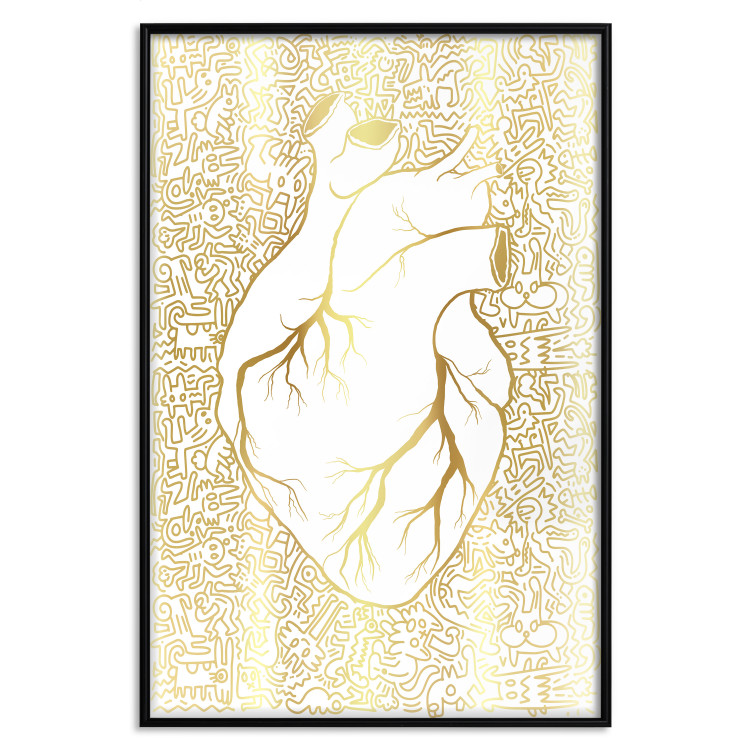 Clean Heart [Deco Poster - Gold]