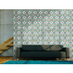 Wallpaper Dance of turquoise line 89223