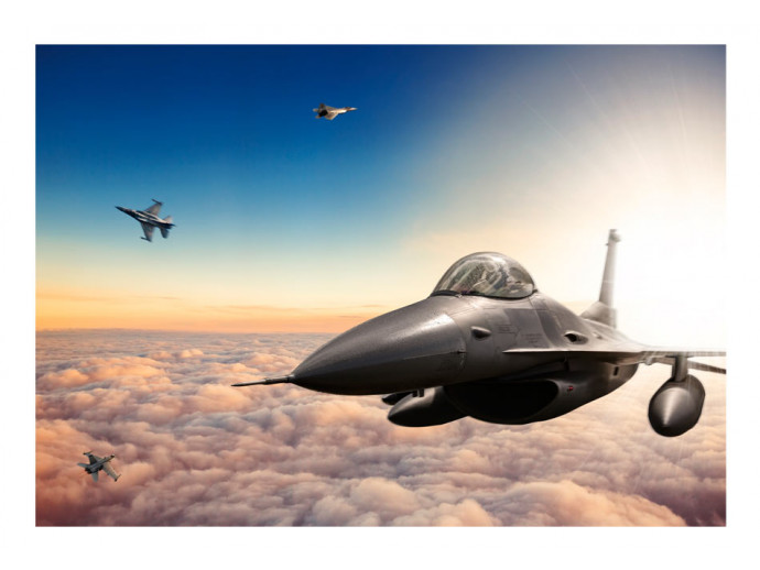 Photo Wallpaper F16 Fighter Jets 97023 additionalImage 1