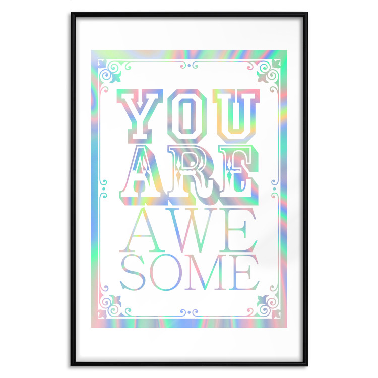 You Are Awesome [Deco Poster - Holographic]