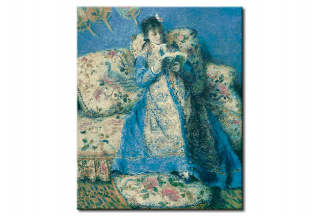 Copia de calidad barata Madame Claude Monet lectura 51033
