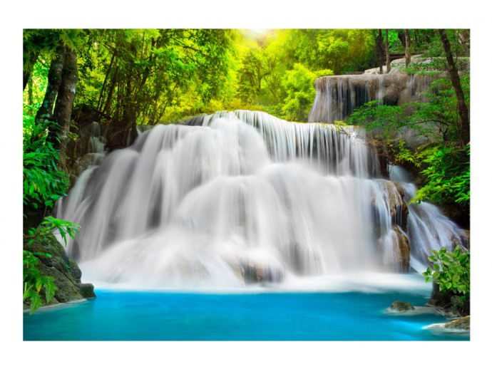 Photo Wallpaper At the waterfall 60033 additionalImage 1