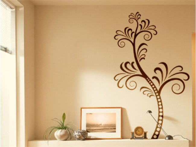Adesivo murale Plant motif 98833 additionalImage 3