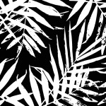 Wandtapete Black and White Jungle 113743 additionalThumb 2