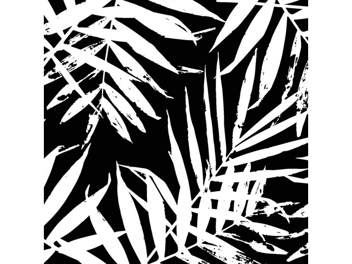 Wandtapete Black and White Jungle 113743 additionalImage 2