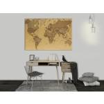 Cork Pinboard Ancient World Map [Cork Map] 95943 additionalThumb 3