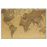 Cork Pinboard Ancient World Map [Cork Map] 95943 additionalThumb 1