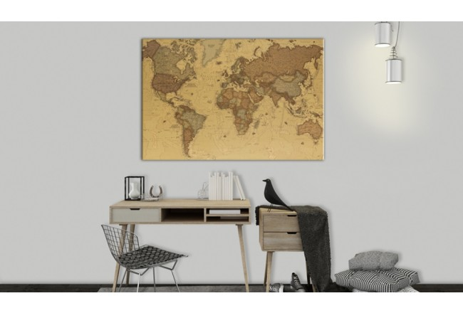 Cork Pinboard Ancient World Map [Cork Map] 95943 additionalImage 2
