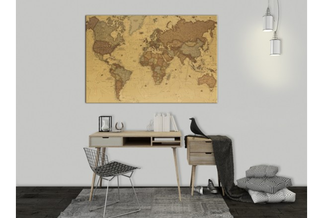 Cork Pinboard Ancient World Map [Cork Map] 95943 additionalImage 3