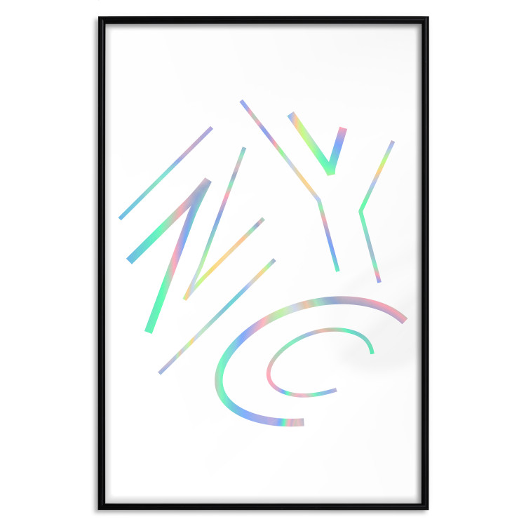 NYC [Deco Poster - Holographic]
