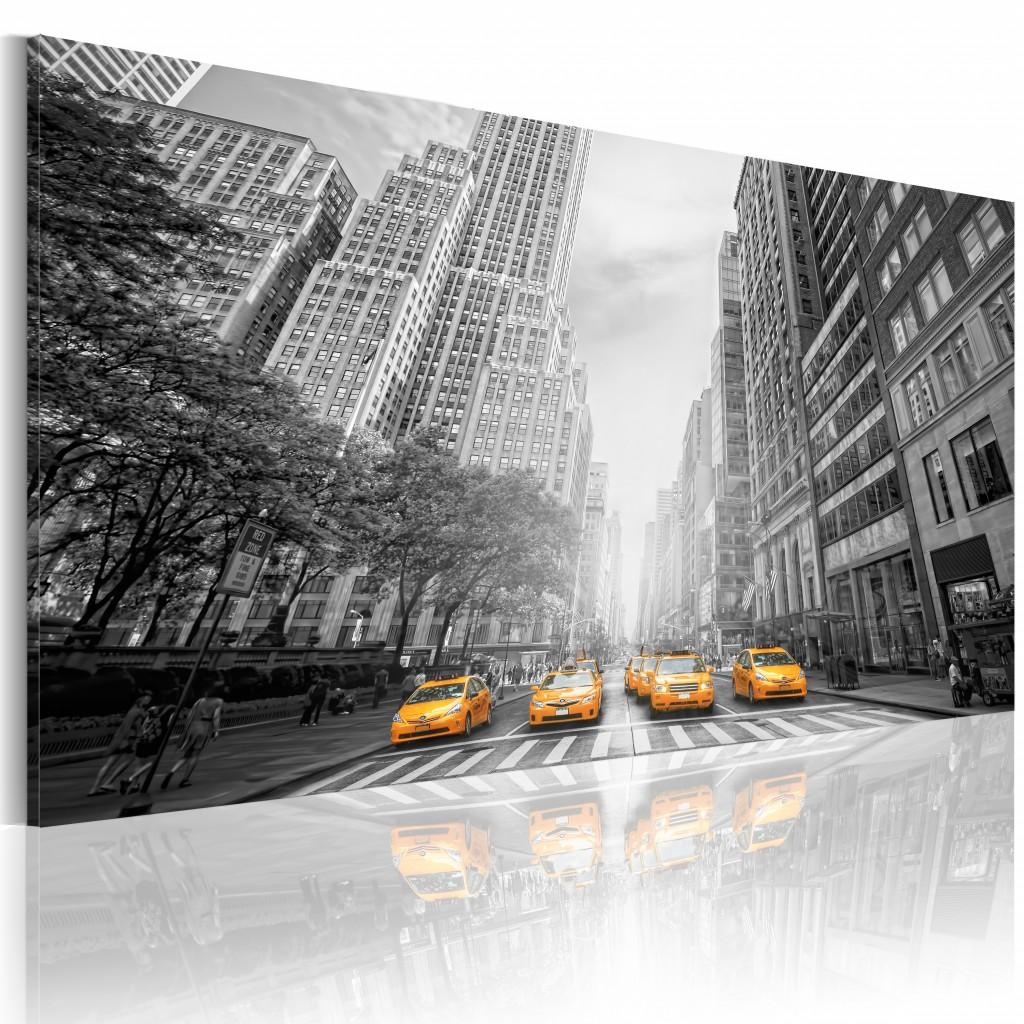 Nueva York - taxis amarillos XXL
