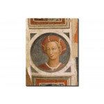 Quadro famoso Roundel with head of a woman 112583