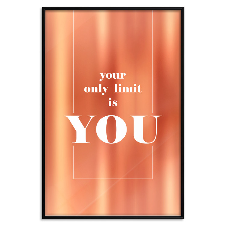 Your Only Limit Is You [Deco Poster - Copper]