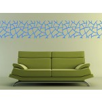 Vinilo pared Abstract pattern: giraffe 98783 additionalThumb 3