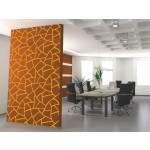 Vinilo pared Abstract pattern: giraffe 98783 additionalThumb 2