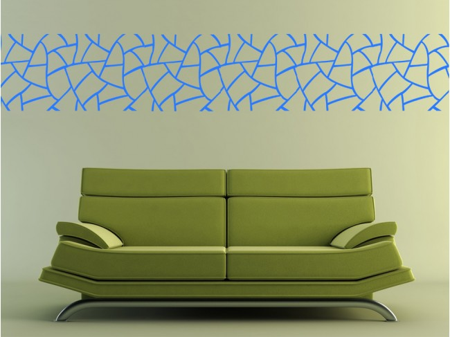 Vinilo pared Abstract pattern: giraffe 98783 additionalImage 3