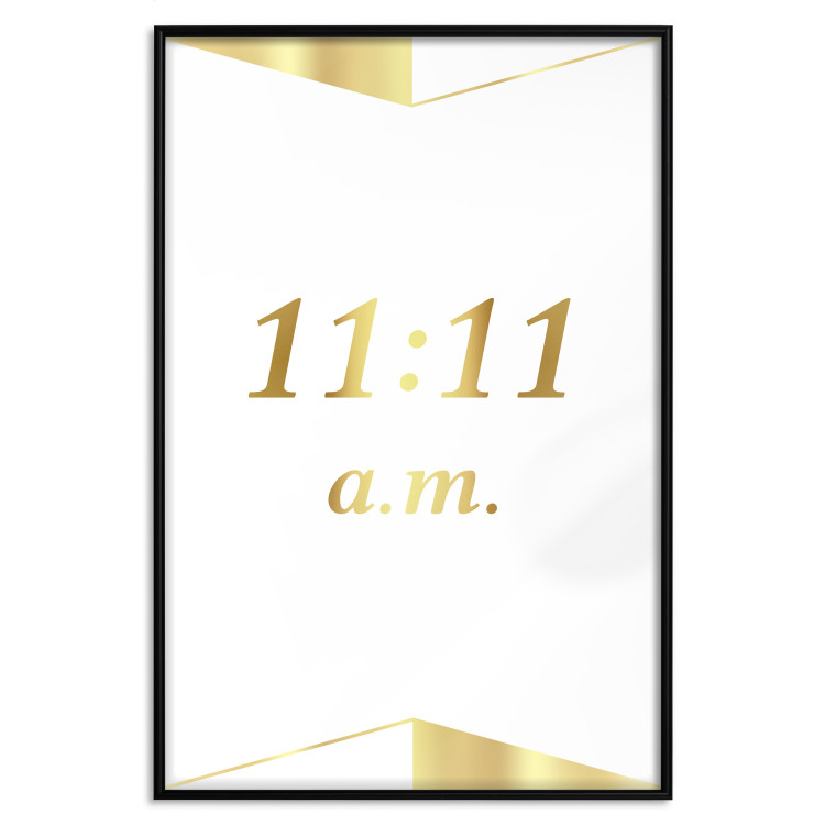 Unusual Time [Deco Poster - Gold]