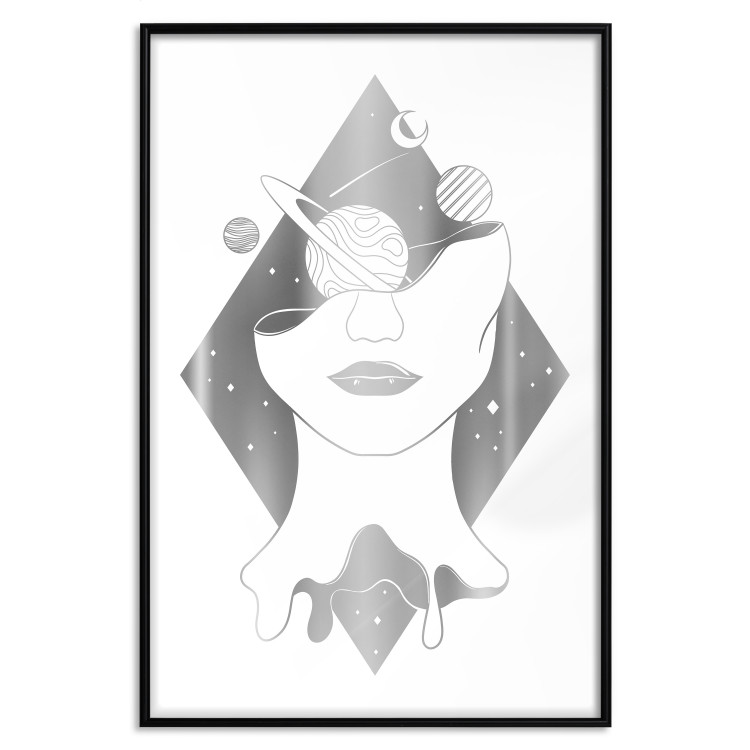 Cosmos in the Head [Deco Poster - Silver]