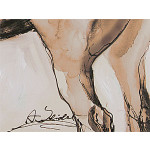Canvas Print White horse 49504 additionalThumb 3