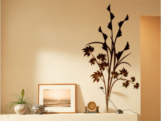Vinilo pared Bush 98704