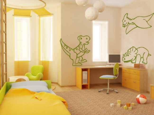 Vinilo pared Dinosaurs 98904