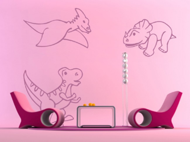 Vinilo pared Dinosaurs 98904 additionalImage 3