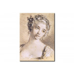 Reproduction de tableau Head of a Young Girl 110014