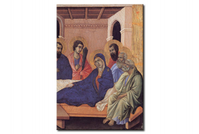 Quadro famoso Mary parting from the Apostles 110614